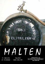 Se maj 2012 som PDF, tryk her - Dansk Maltwhisky Akademi