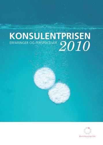 Vinder af Konsulentprisen 2010