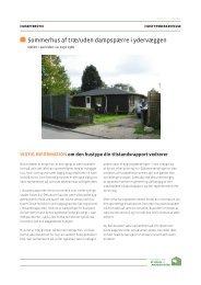 Sommerhus af træ/uden dampspærre i ydervæggen - Huseftersyn