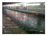 Tilpasning af Cityringen til fremtidens klima - ATV Jord og Grundvand