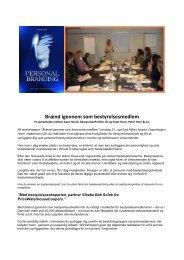 Workshop - Braend igennem som bestyrelsesmedlem ... - Peter Horn