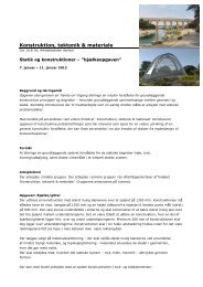 Konstruktion, tektonik & materiale - Rum - Arkitektskolen Aarhus