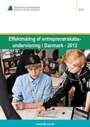 Effektmåling af entreprenørskabsundervisning - 2012 - Fonden for ...