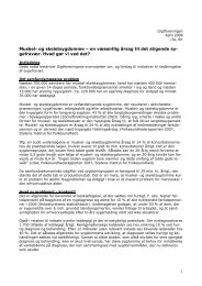 Notat om bedre koordinering af gigtbehandling (pdf) - Gigtforeningen