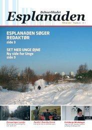 Esplanaden søger Redaktør Beboerbladet - Brøndby Strand