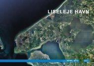 """Rapporten """"Liseleje Havn april 2013"""" - havn i Liseleje"""