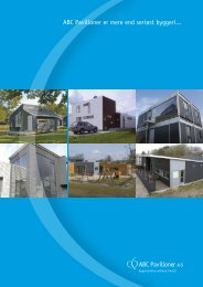 ABC Pavilloner er mere end seriøst byggeri... - ABC Pavilloner A/S