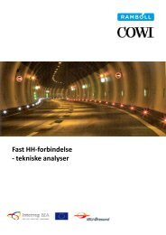 Fast HH-forbindelse - tekniske analyser - Region Hovedstaden
