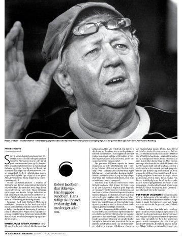 """""""Jernmanden"""" (Udstillingsomtale), Torben Weirup ... - Kunsten"""