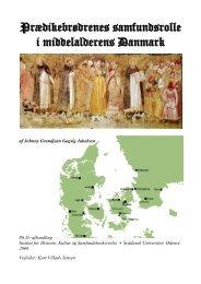 Prædikebrødrenes samfundsrolle i middelalderens Danmark - JGGJ