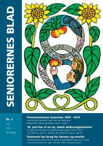 Seniorernes Blad nr. 3 2013 - Pensionisternes Samvirke