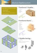 Træskelet til lavenergibyggeri - brochure - Goda Rum - Page 6
