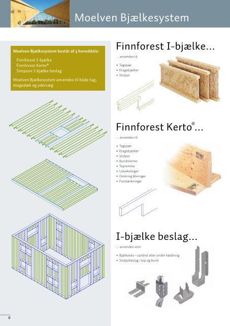 Træskelet til lavenergibyggeri - brochure - Goda Rum