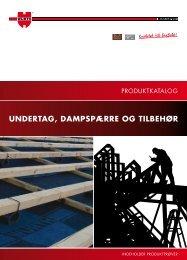 UNDERTAG, DAMPSPÆRRE OG TILBEHØR - Würth Danmark A/S