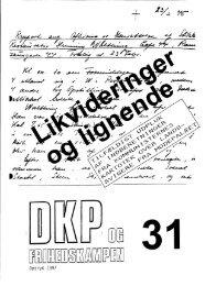 DKP og Frihedskampen Bind 31