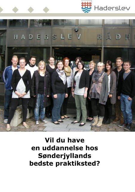 Vil du have en uddannelse hos Sønderjyllands bedste - Haderslev ...