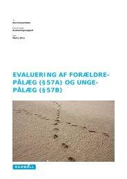 EVALUERING AF FORÆLDRE- PÅLÆG (§57A) OG UNGE ... - Social