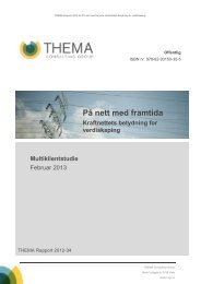 På nett med framtida - THEMA Consulting Group