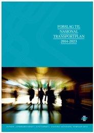 FORSLAG TIL NASJONAL TRANSPORTPLAN 2014-2023