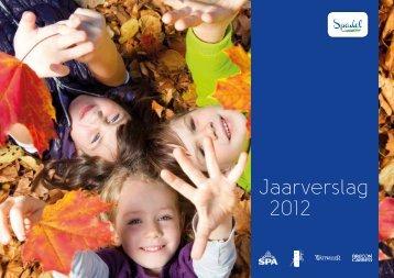 Jaarverslag 2012 - Spadel