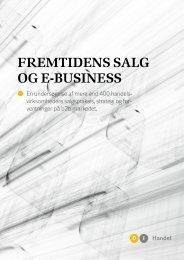 Fremtidens salg og e-business (pdf) - DI Handel
