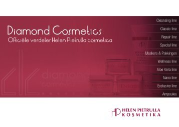 Brochure 2012 - Diamond Cosmetics