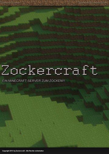 Zockercraft Vorstellung