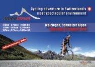 Swiss Cycling Alpenbrevet  -  Teilnehmerinformationen 2013