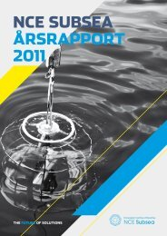 NCE Subsea - Årsrapport 2011
