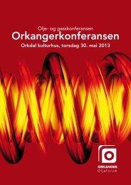 program - Orkanger Oljeforum