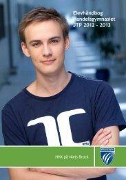 Elevhåndbog for Handelsgymnasiet JTP - Niels Brock