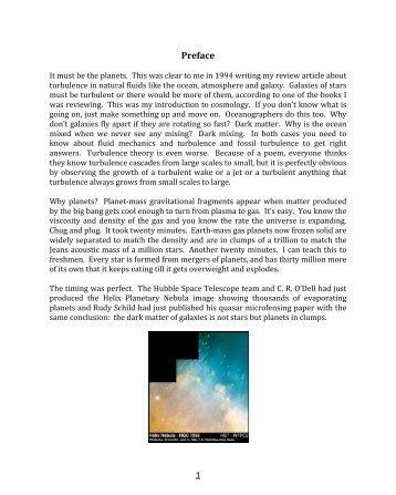 Preface - Journal of Cosmology