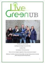 Årsrapport for Live Green UB Ved Bergen Handelsgymnasium 2011 ...