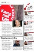 Få av LOs krav til EØS-avtalen oppfylt - Rød Ungdom - Page 3