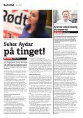 Få av LOs krav til EØS-avtalen oppfylt - Rød Ungdom - Page 7