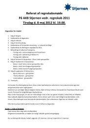Referat af regnskabsmøde Tirsdag d. 8 maj 2012 - Boligselskabet ...
