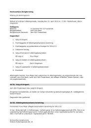 Referat fra afdelingsmødet i afd. 29 år 2012 - Boligkontoret Danmark