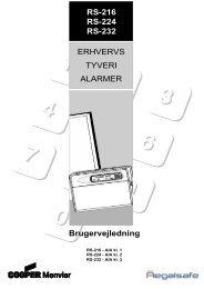 erhvervs tyveri alarmer - Alarmdivisionen A/S