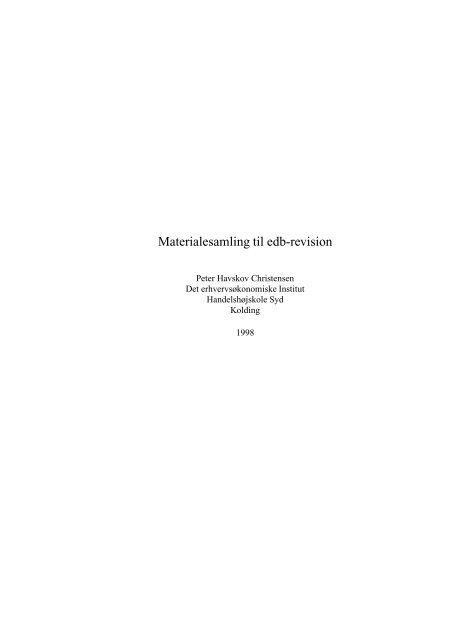 PDF uden ophavsretligt beskyttede sider - Peter Havskov Christensen