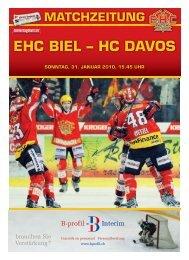 EHC BIEL – HC DAvos