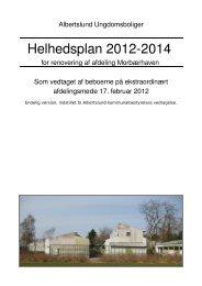 Helhedsplan for renovering af afdeling ... - Renovering 2014