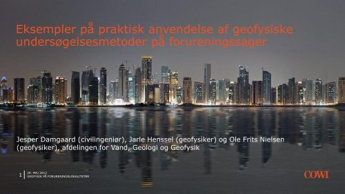 Jesper Damsgaard - ATV Jord og Grundvand