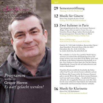 PDF-Download (359 KB) - Robert Schumann Hochschule Düsseldorf