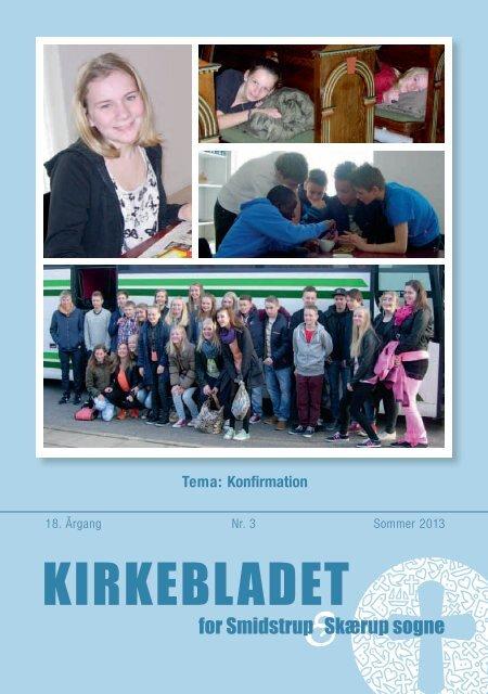 Kirkebladet juni 2013 - Smidstrup og Skærup Kirker