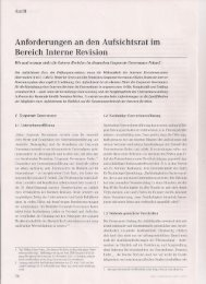 RC&A Ausgabe 3 im Jahre 2012 Anforderungen AR - Rudolf X. Ruter