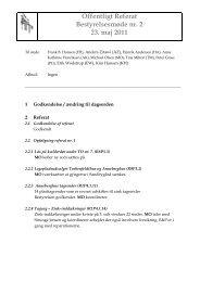 Offentligt Referat Bestyrelsesmøde nr. 2 23. maj 2011