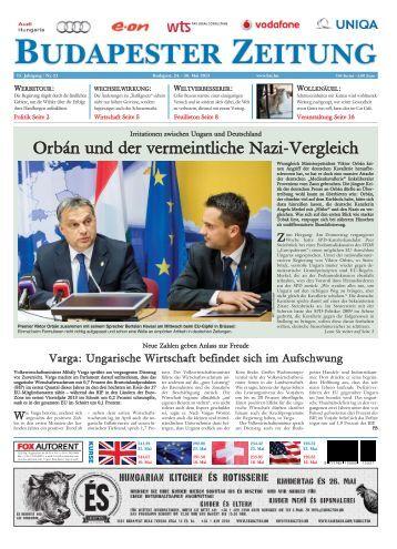 Orbán und der vermeintliche Nazi-Vergleich