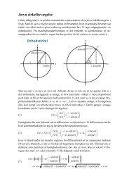 Jævn cirkelbevægelse - matematikfysik