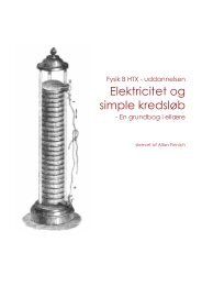 Elektricitet og simple kredsløb - En grundbog i ellære - alfin.dk