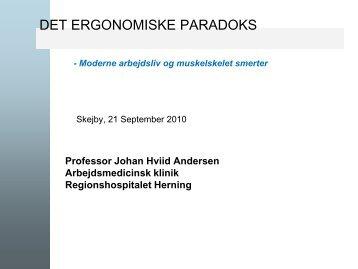 Johan Hviid Andersen - smertedage - Gigtforeningen